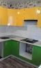 Кухня Зеленое яблоко-лимон_2