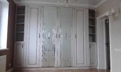 классика трапецевидный шкаф_1